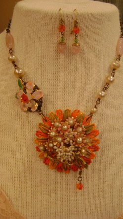 Vintage Jewelry Set, 65.00 Free Domestic Shipping